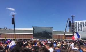 Fan zone à Rennes